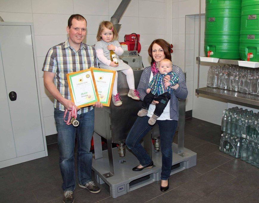 1. Preis für Behamberger Speiseöl Produzenten